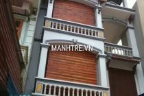 Thi công lắp đặt mành tre nhà anh Thúy ở Từ Liêm – Hà Nội