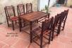 Bộ bàn ghế nhà hàng (Xong thẳng- NH04)