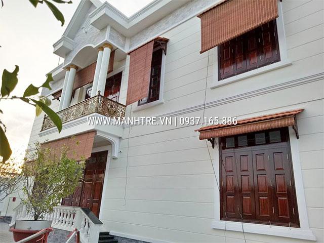 Lắp mành che năng cửa sổ nhà chú Hò Bún ở Thái Nguyên