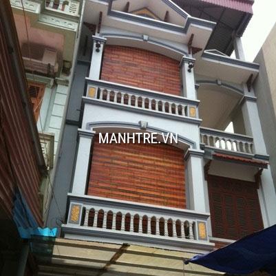 Thi công lắp đặt mành che ban công nhà anh Thúy ở Hà Nội
